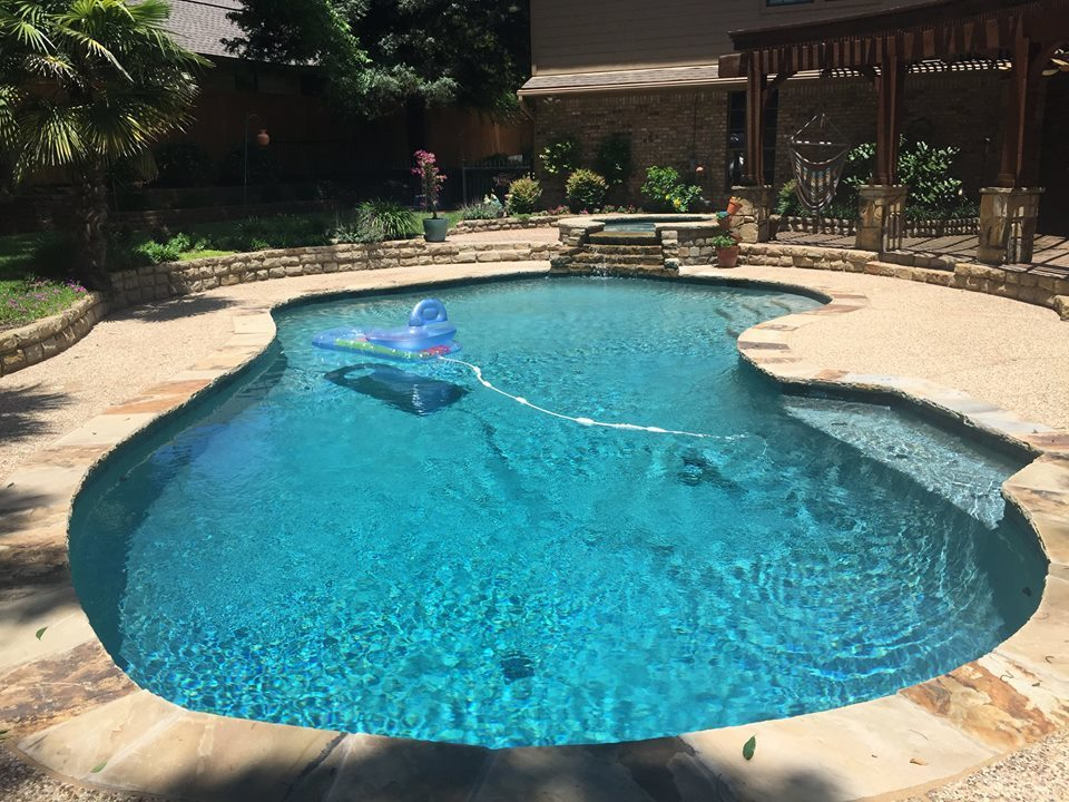 Flower Mound Pool Renovation Completed